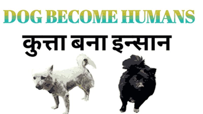 कुत्ता बना इन्सान DOG BECOME HUMANS